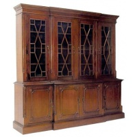 Indonesia furniture manufacturer and wholesaler bookcase 4 door