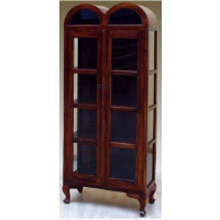 Indonesia furniture manufacturer and wholesaler cabinet 2 glass door