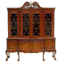 Indonesia furniture manufacturer and wholesaler chippendale cabinet 4 door