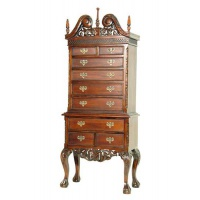 Indonesia furniture manufacturer and wholesaler chippendale tallboy mini