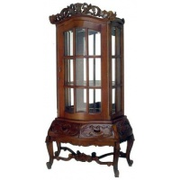 Indonesia furniture manufacturer and wholesaler display cabinet