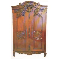 Indonesia furniture manufacturer and wholesaler large armoire