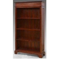 Indonesia furniture manufacturer and wholesaler open bookcase plain